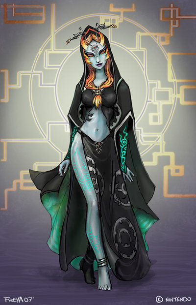 The Legend of Zelda Midna s True FormZelda Twilight Princess Midna