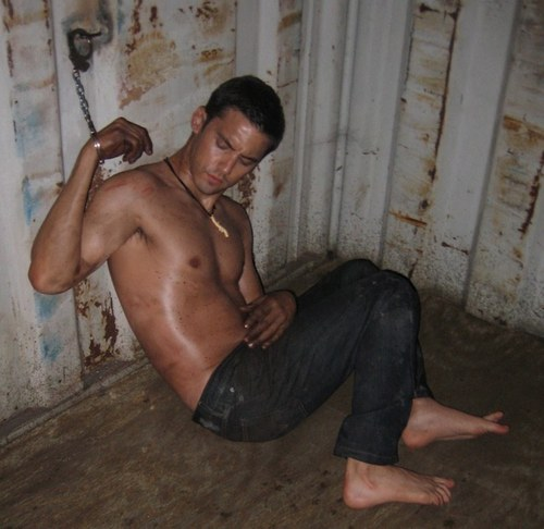 Milo prisoner! <3