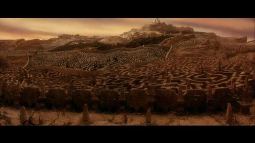 Labyrinth 바탕화면 possibly with a sunset titled Movie Screencaps