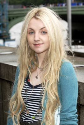 Evanna Lynch wallpaper containing a portrait titled OotP London Photocall (Thames Terrace)
