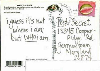PostSecret - February 1, 2009
