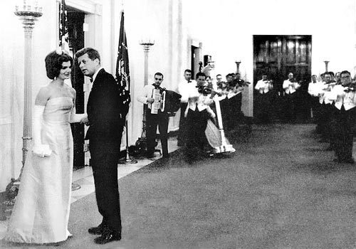 President John F. Kennedy and First Lady Jacqueline