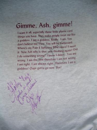 Simi Signed sweat-shirt