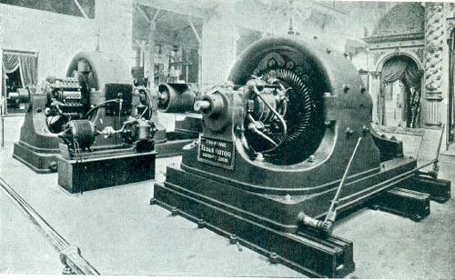 Tesla's Polyphase AC 500 Generator