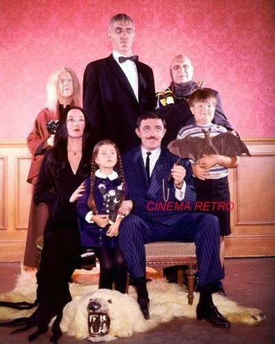 Classic Television Revisited images The Addams Family Cast ...