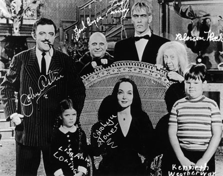 The Addams Family Cast