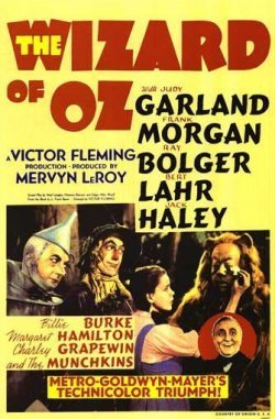 The wizard of oz poster