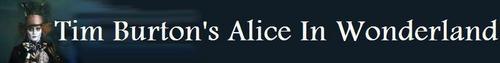 Tim Burton's Alice In Wonderland Mad Hatter Banner