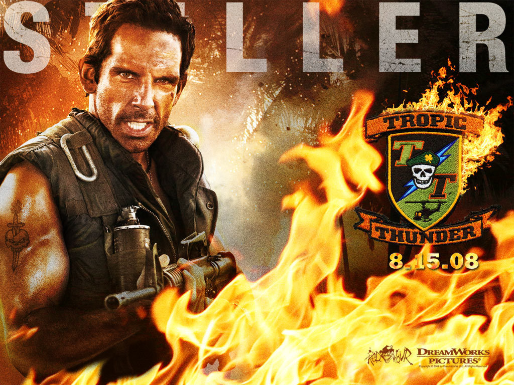 Tropic Thunder Images Tropic Thunder Wallpaper Hd
