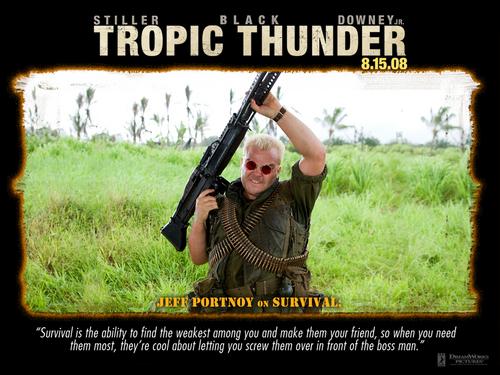 Tropic Thunder achtergrond