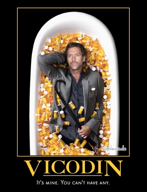 Vicodin Motivational Poster