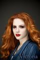 Victoria the redhead.