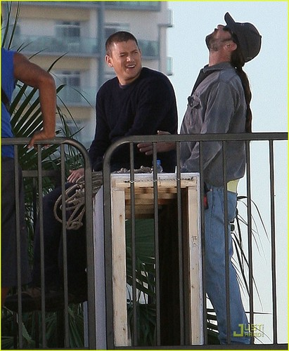 Wentworth Filming Prison Break