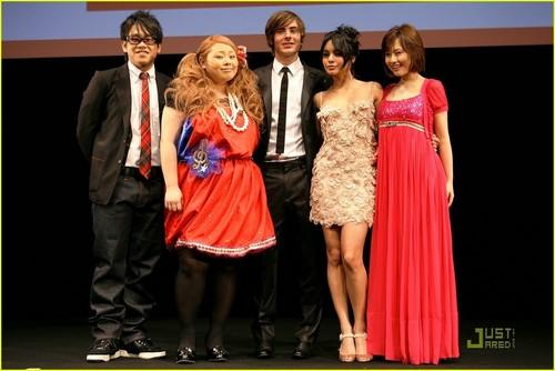 Zanessa @ HSM 3 Premiere Tokyo, Japan. 2009