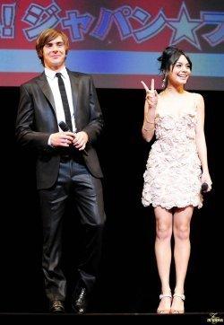 Zanessa @ Tokyo Premiere