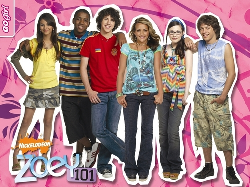 Zoey 101 پیپر وال probably with a hip boot, a sign, and a pantleg, پنٹلاگ called Zoey 101