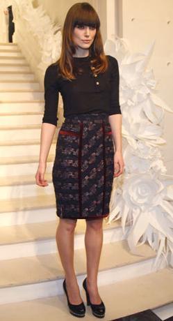 front row de Chanel