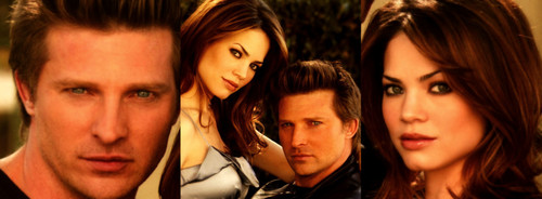 Liz & Jason wallpaper containing a portrait called liason