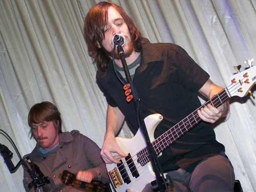 The All-American Rejects wallpaper with a guitarist and a concert called mike kennerty