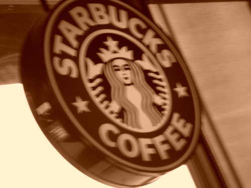 stella, star bucks lover
