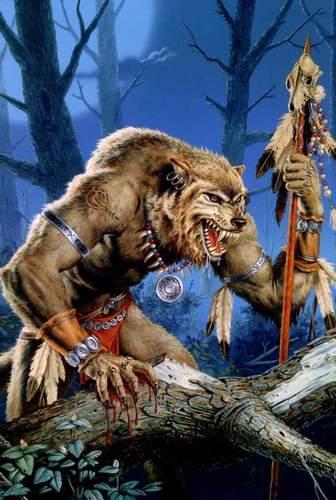 Werewolves wallpaper entitled werewolf shaman