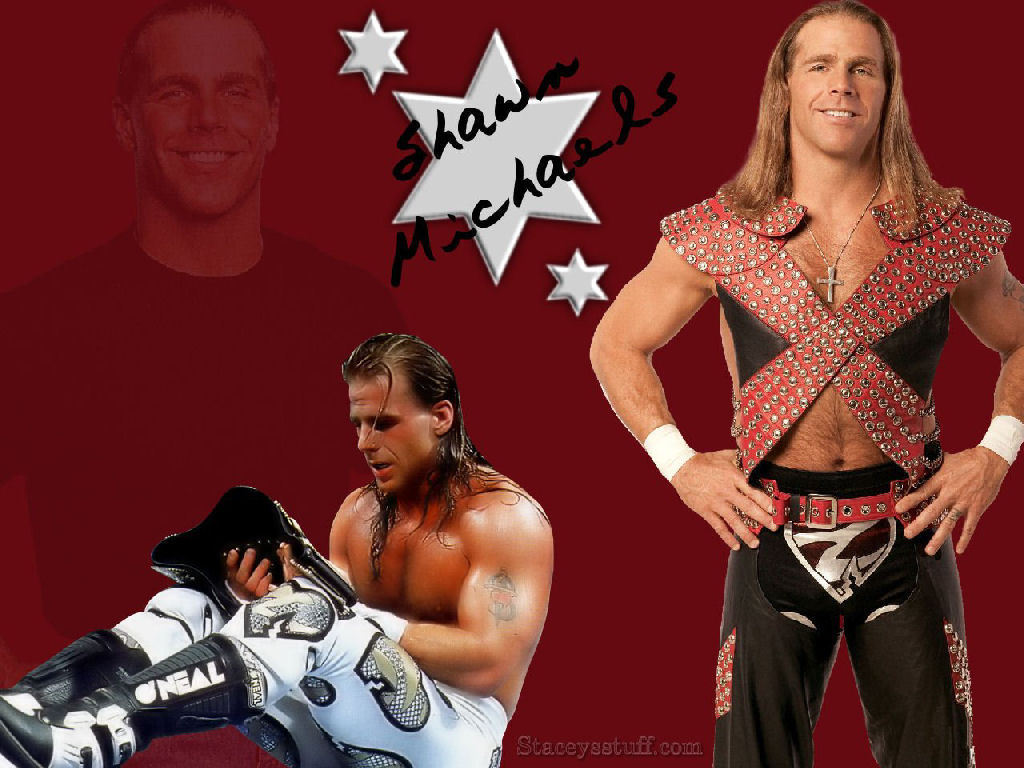 """The Heartbreak Kid"" Shawn Micheals - professional-wrestling wallpaper"