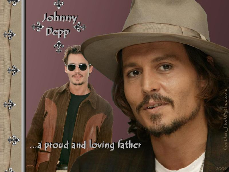 johnny depp father. johnny depp father. a proud
