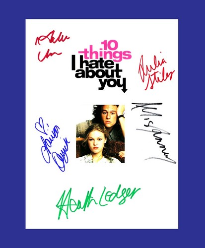 10 things i hate about आप (autographs)