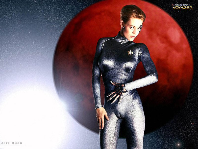 7 Of 9 Star Trek Voyager Wallpaper 3982394 Fanpop