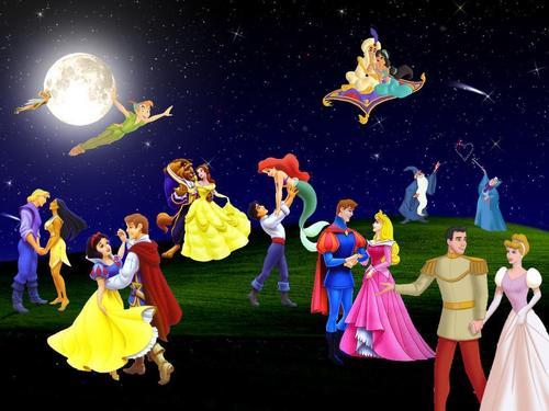 A 디즈니 Dance