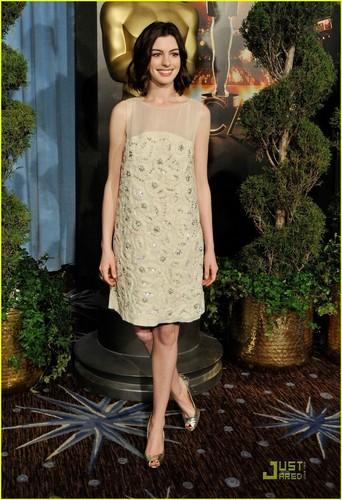 Anne Hathaway @ 2009 Oscar Nominees Luncheon