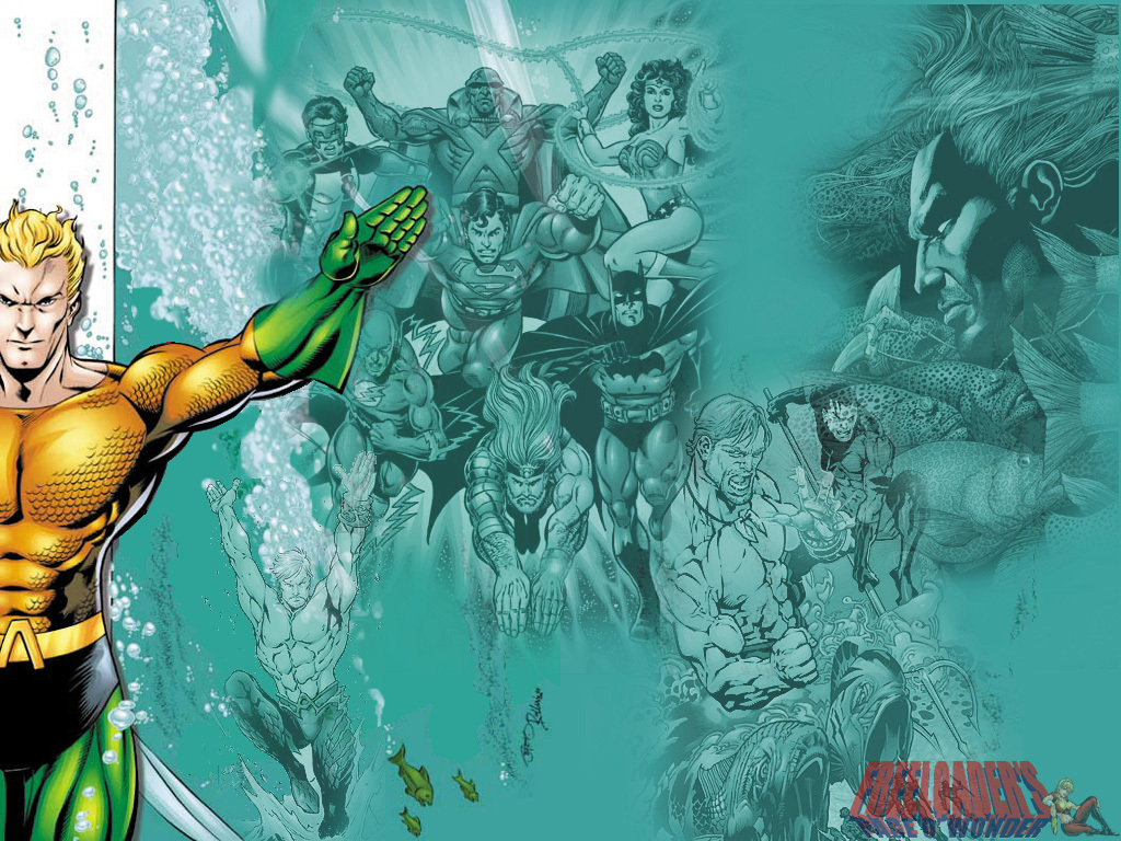 Aquaman - DC Comics Wallpaper (3976574) - Fanpop fanclubs