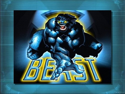 X-Men wallpaper with anime titled Beast