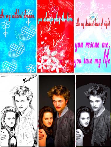 Bella & Edward fan Art