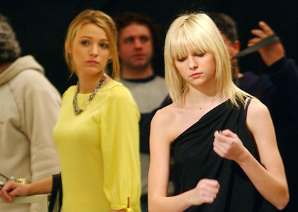Blake Lively and Taylor Momsen