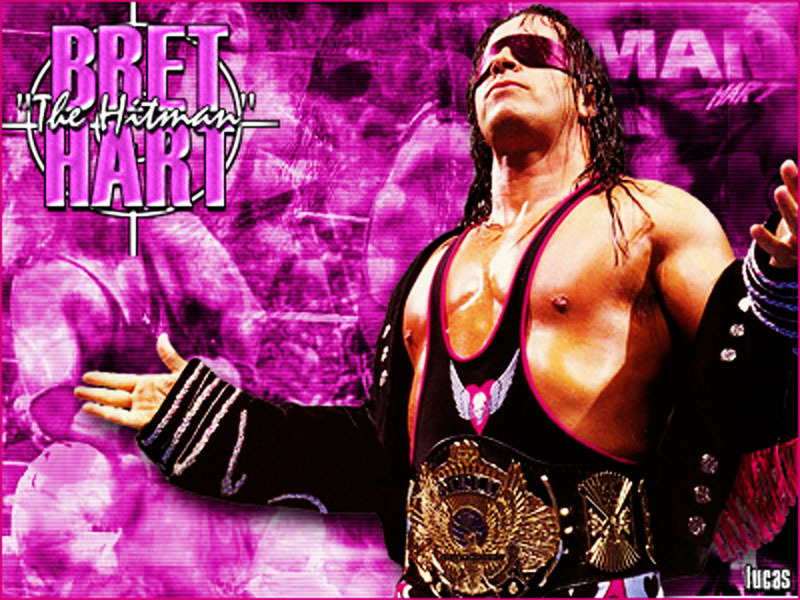 "Bret ""The Hitman"" Hart - professional-wrestling wallpaper"