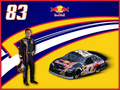 Brian Vickers - nascar wallpaper