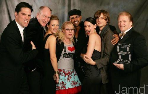 criminal minds wallpaper with a business suit titled CM Cast @ 14th Annual Diversity Awards Gala