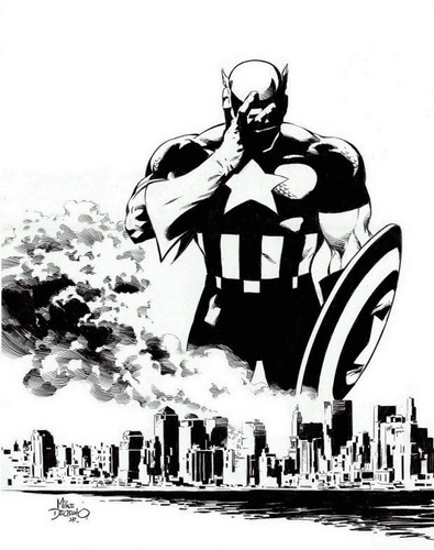 Captain America and the World Trade Center