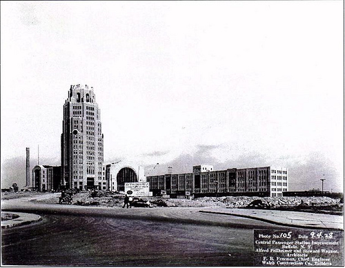 Buffalo NY Images Central Terminal Construction 1928 Wallpaper And Background Photos