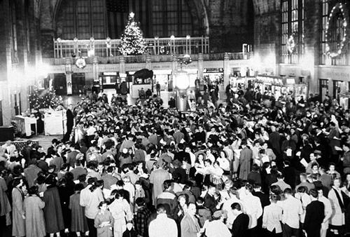 Central Terminal Historic fotografia