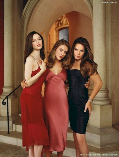 Charmed wallpaper with a cocktail dress and a dinner dress entitled Charmed Ones
