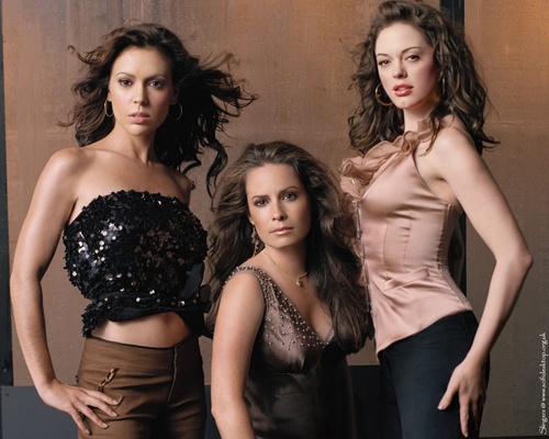 Charmed wallpaper possibly containing a bustier, attractiveness, and a lingerie entitled Charmed Ones