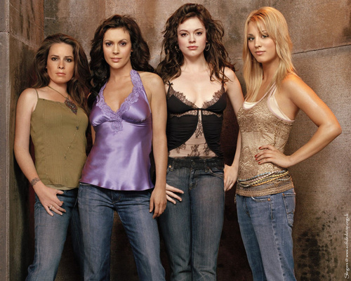 Charmed wallpaper probably containing a top called Charmed Ones