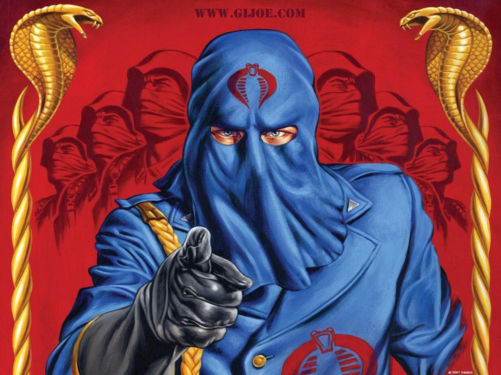 Cobra Commander - G.I. Joe Wallpaper (3981525) - Fanpop