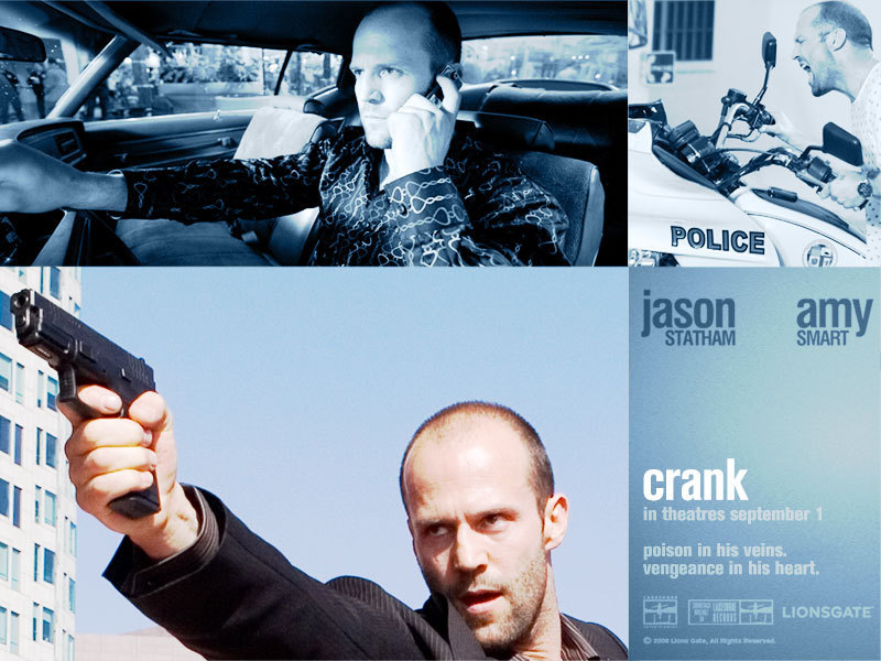 jason statham wallpaper. Crank - Jason Statham