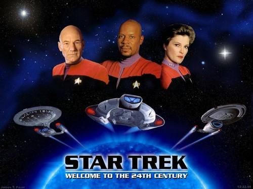 Star Trek-The Next Generation wallpaper titled Crew