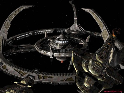 estrella Trek: Deep el espacio Nine fondo de pantalla called Deep el espacio 9
