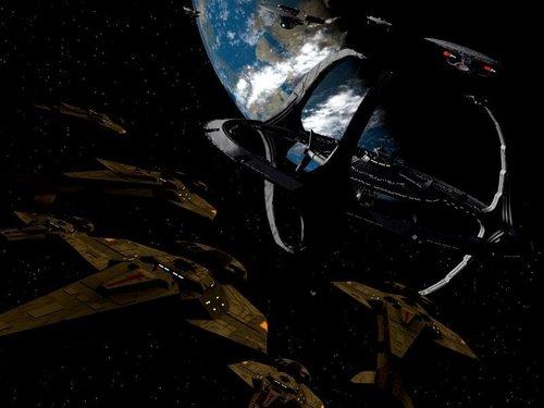 bintang Trek: Deep luar angkasa Nine wallpaper titled Deep luar angkasa 9