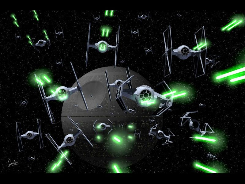 star wars wallpaper. Defenders of the Death Star